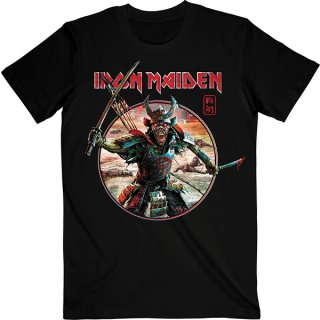 IRON MAIDEN Senjutsu Eddie Warrior Circle, Tシャツ