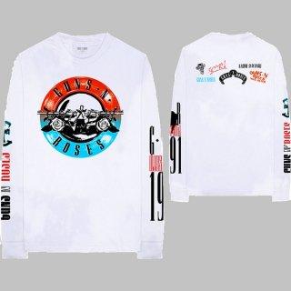 GUNS N' ROSES Motorcross Logo, ロングTシャツ