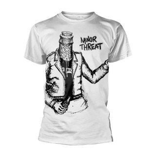 MINOR THREAT Bottle Man Jumbo Print, Tシャツ