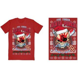 FIVE FINGER DEATH PUNCH Zombie Kill Xmas, Tシャツ