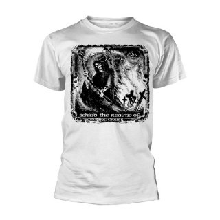 SACRILEGE Behind The Realms Of Madness Wht, Tシャツ