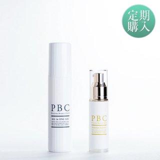 【定期購入】PBCプレミアムエッセンス+オールインワンジェル