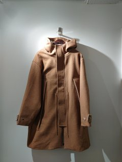 <img class='new_mark_img1' src='https://img.shop-pro.jp/img/new/icons24.gif' style='border:none;display:inline;margin:0px;padding:0px;width:auto;' />【roundabout】Melton Hood Coat