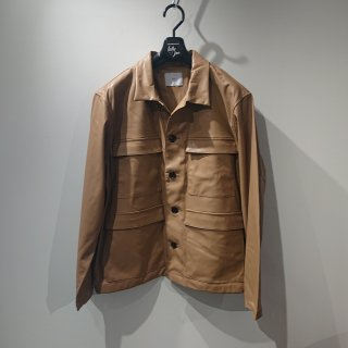 <img class='new_mark_img1' src='https://img.shop-pro.jp/img/new/icons24.gif' style='border:none;display:inline;margin:0px;padding:0px;width:auto;' />【 ATHA 】FAKE LEATHER FIELD JACKET