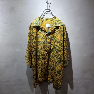 <img class='new_mark_img1' src='https://img.shop-pro.jp/img/new/icons7.gif' style='border:none;display:inline;margin:0px;padding:0px;width:auto;' />【 ATHA 】PAISLEY PRINT OPEN COLLAR SHIRTS