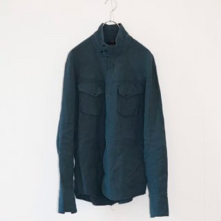 <img class='new_mark_img1' src='https://img.shop-pro.jp/img/new/icons7.gif' style='border:none;display:inline;margin:0px;padding:0px;width:auto;' />【MINUS】DC SHORT HORN SHIRT/(WASHED FRENCH LINEN)