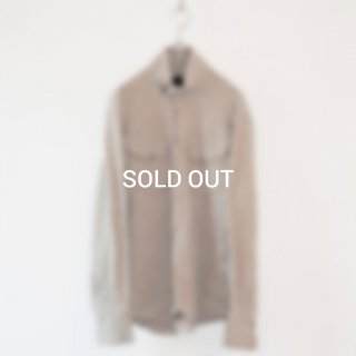 <img class='new_mark_img1' src='https://img.shop-pro.jp/img/new/icons49.gif' style='border:none;display:inline;margin:0px;padding:0px;width:auto;' />【MINUS】DC SHORT HORN SHIRT/(WASHED FRENCH LINEN)