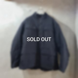 <img class='new_mark_img1' src='https://img.shop-pro.jp/img/new/icons7.gif' style='border:none;display:inline;margin:0px;padding:0px;width:auto;' />【roundabout】Double Nylon Stand Collar Blouson