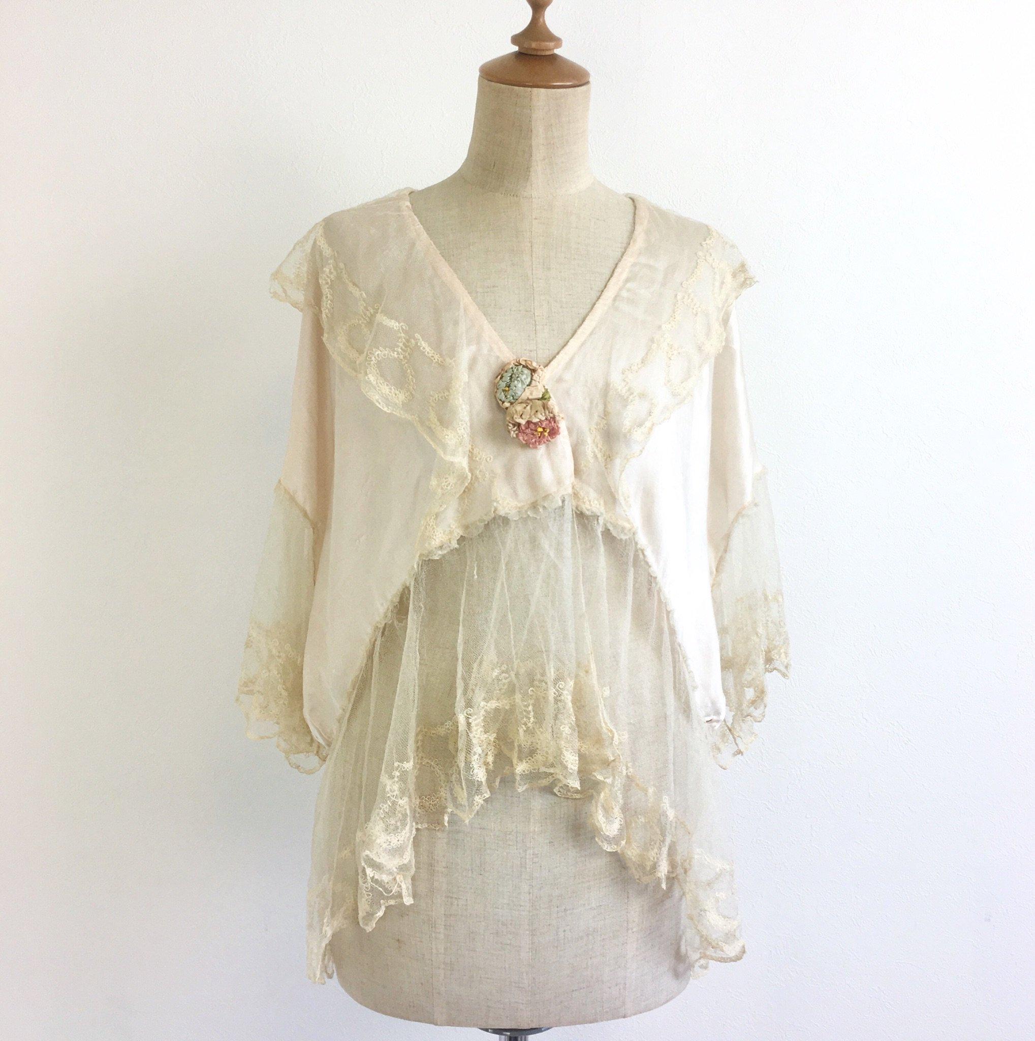fragile antique short gown