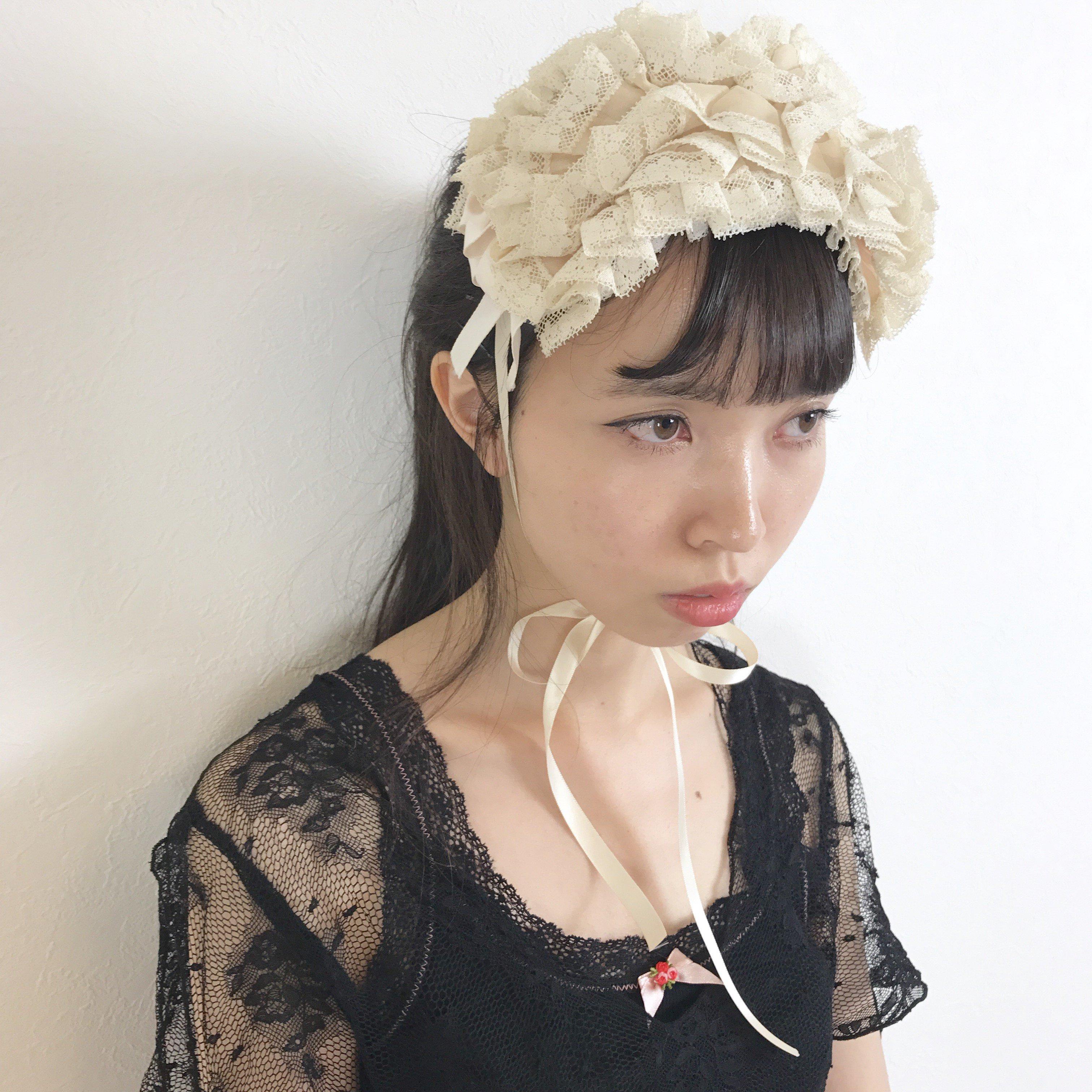 whipped cream head dress
