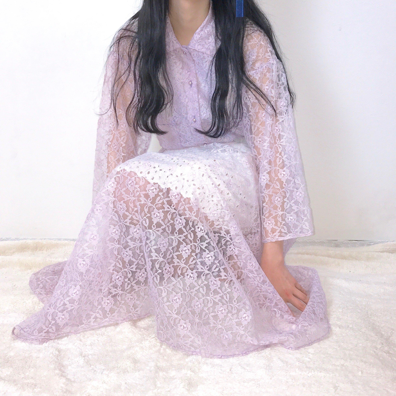 lavender lace one piece