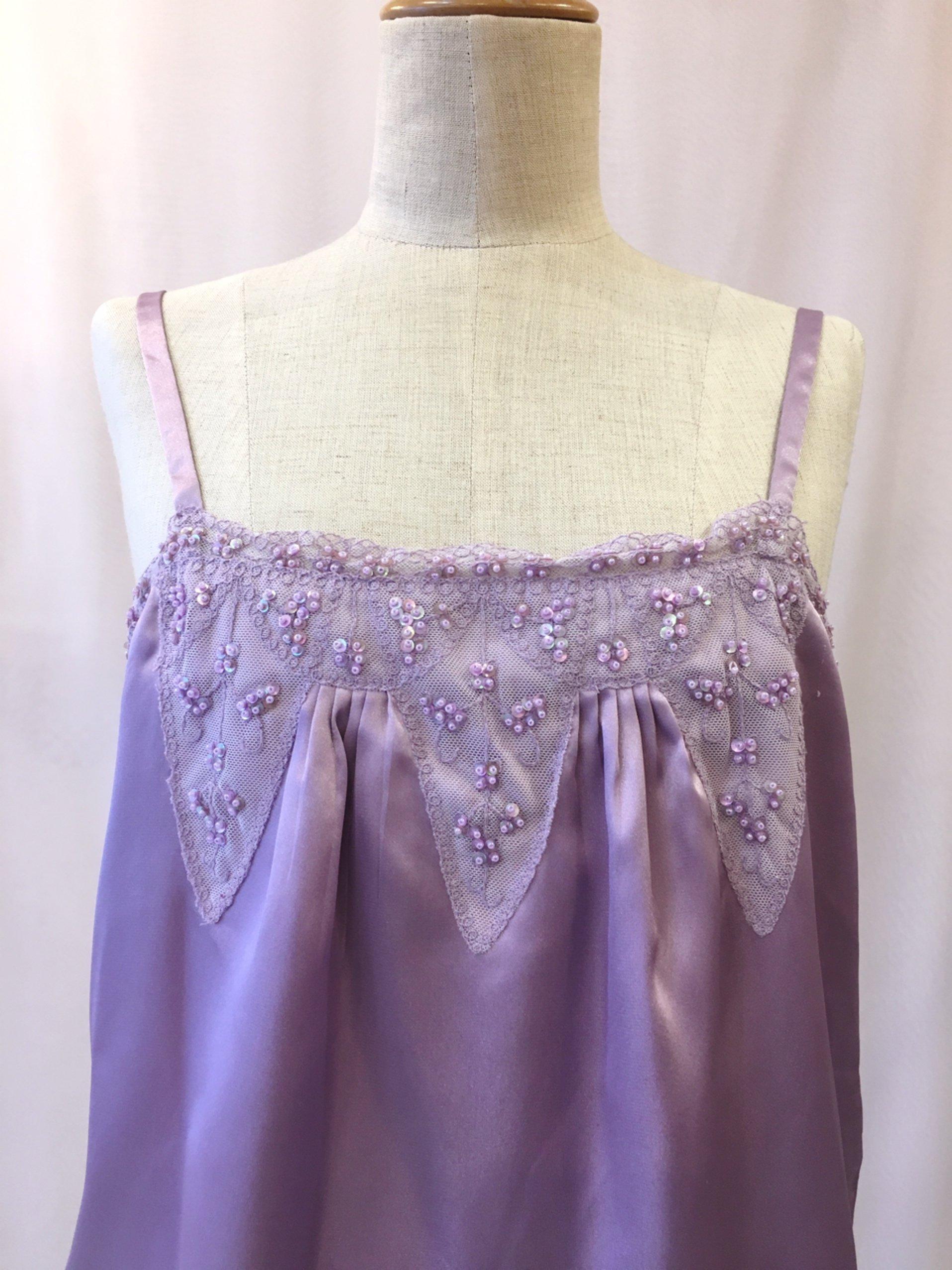 lavender lingerie camisole