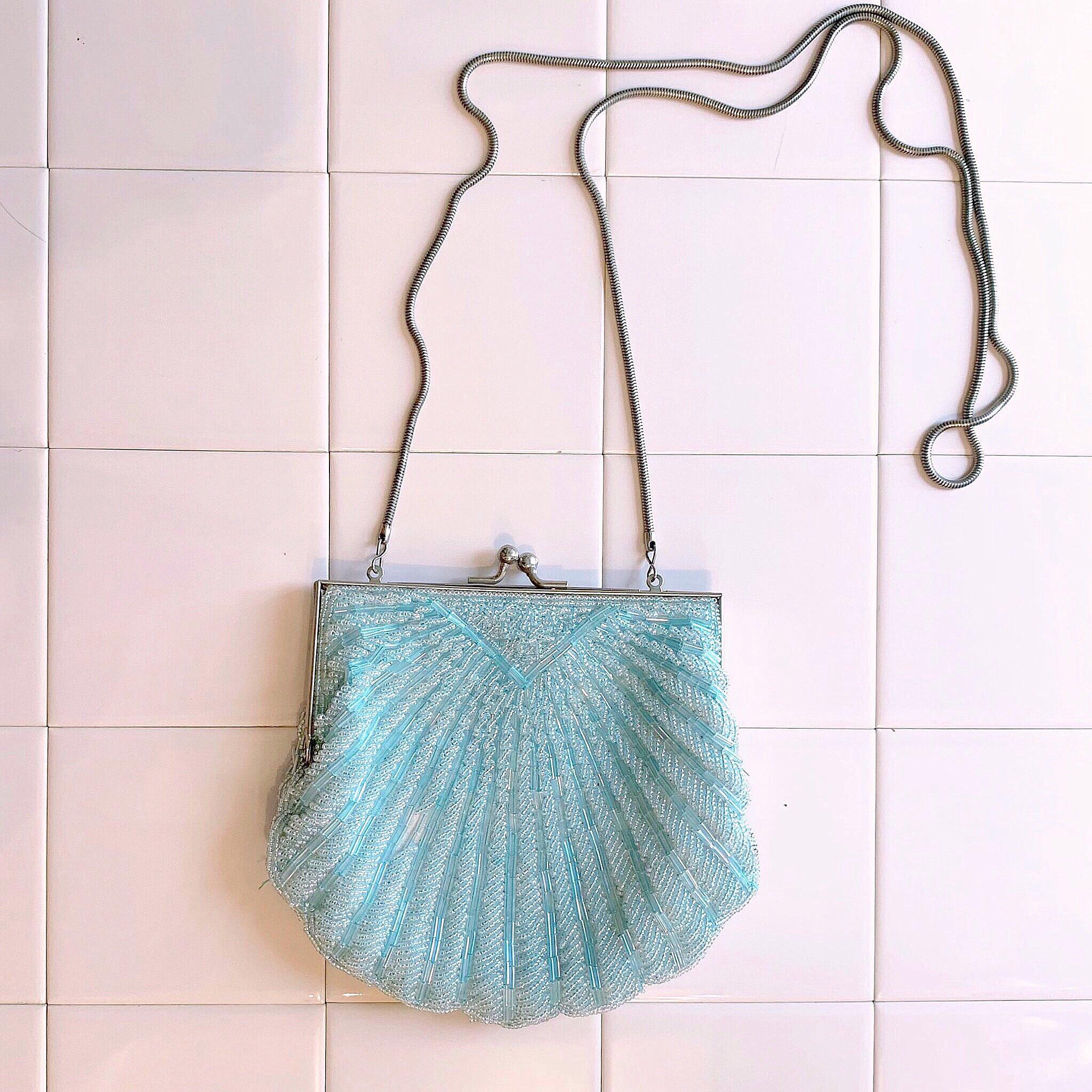 vintage bijou shell bag