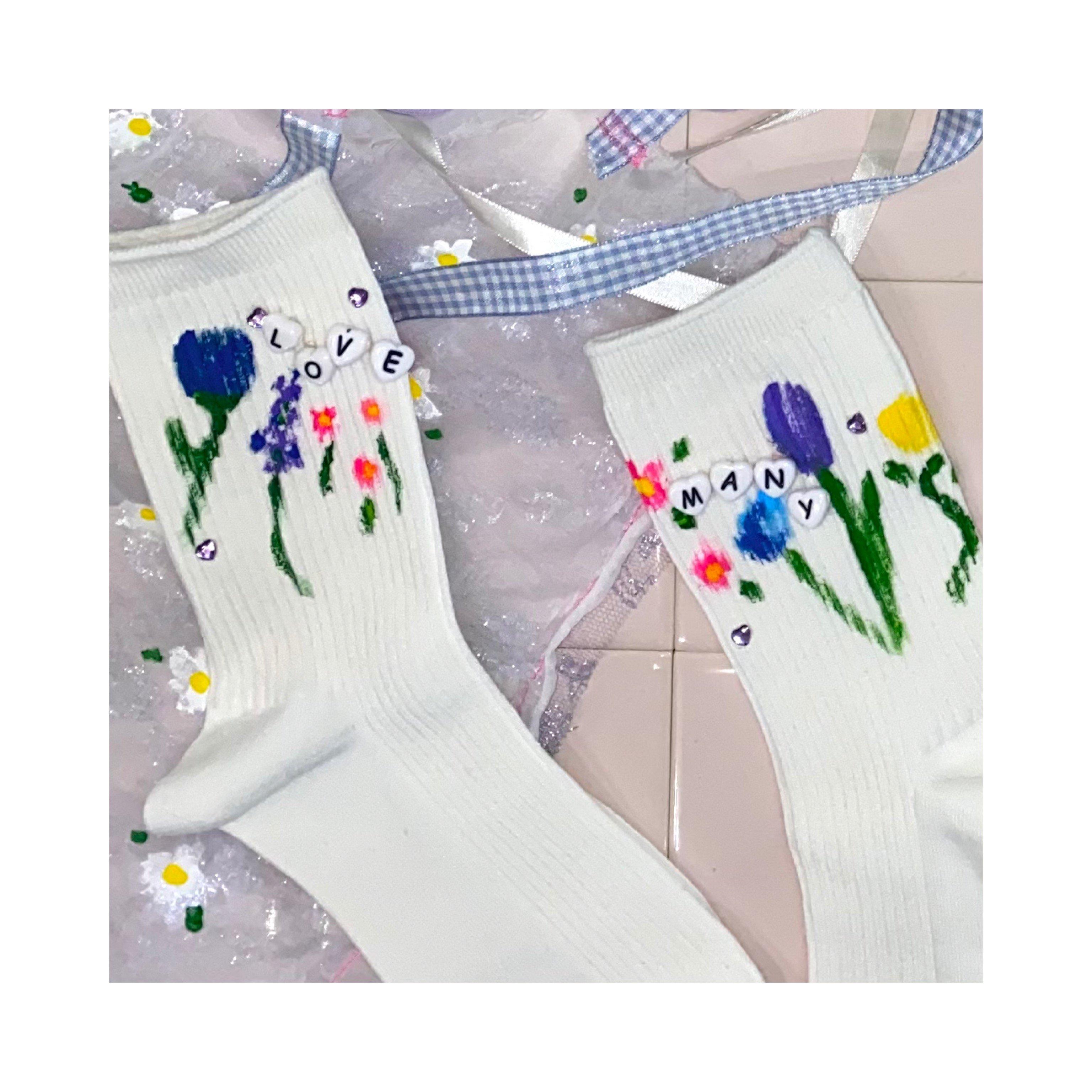 【hana】socks -bloom-