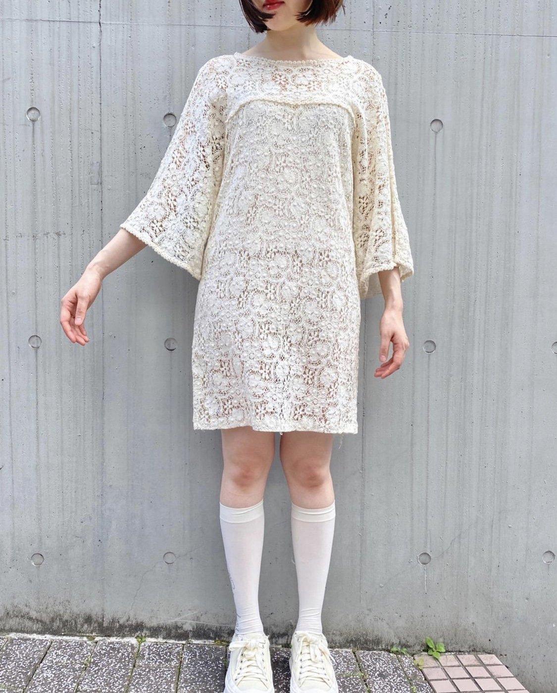 crochet lace one-piece