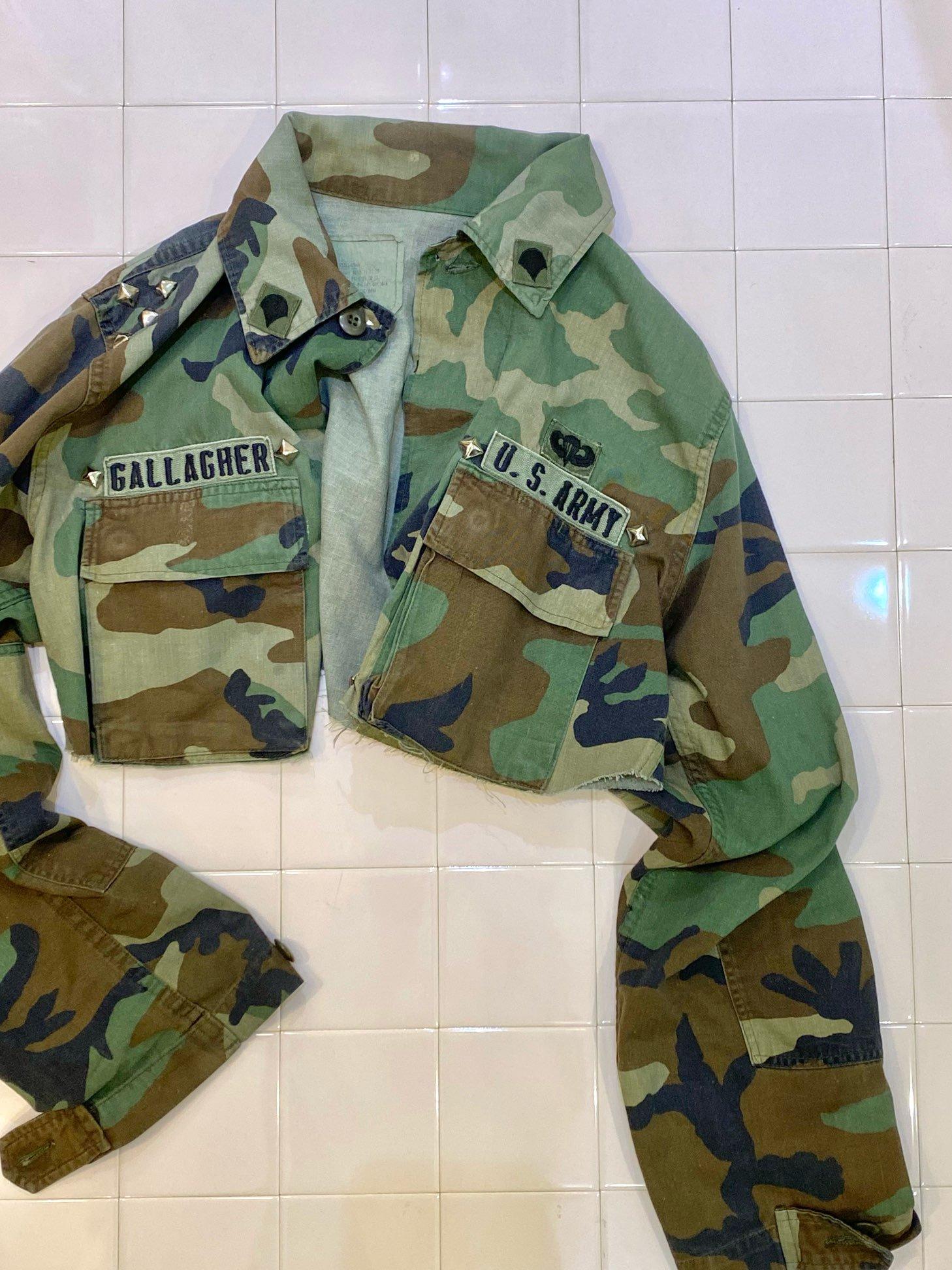 military short jacket