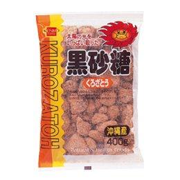 健康フーズ 黒砂糖<沖縄産>400g