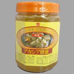 [終売]健康フーズ 国産 アカシア蜂蜜<ビン> 1kg