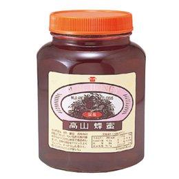 [終売]健康フーズ 国産 高山蜂蜜<ビン> 2kg