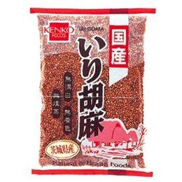 健康フーズ 国産 いり胡麻(金)60g