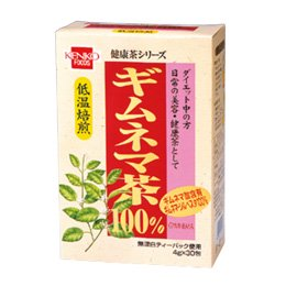 [終売]健康フーズ 健康茶シリーズ ギムネマ茶 箱