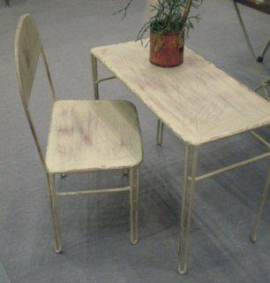 アイアン ミニ テーブル / フラワーテーブル H385mm (IFN-47)