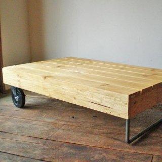 ローテーブル ホイール付き W1100xD700mm 【送料無料】(IFN-58)