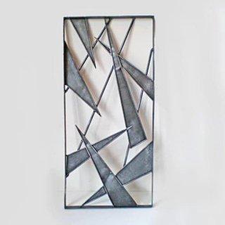 アイアン製 窓格子 ウィンドウグリル 280x600mm パターン04 (IGR-04)