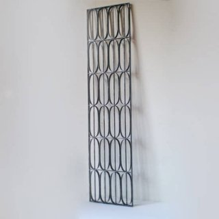 アイアン製 窓格子 ウィンドウグリル 280x1200mm パターン06 (IGR-06)