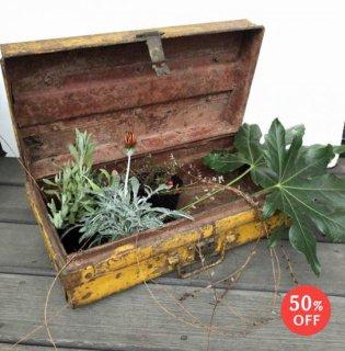 アイアン トランク ビンテージ (M)-W520 送料無料 (UBX-054)