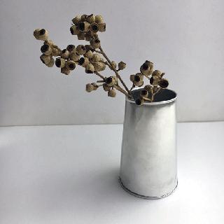フラワーベース 花器 M / アルミ雑貨(KMN-076)