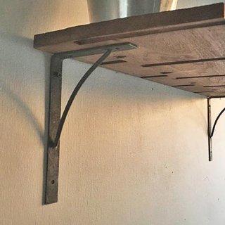 棚受け アイアン / 丸ロッド -L 105x160mm (PRT-007) 《メール便可》<img class='new_mark_img2' src='https://img.shop-pro.jp/img/new/icons57.gif' style='border:none;display:inline;margin:0px;padding:0px;width:auto;' />