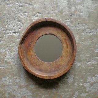 木鉢 円形 ミラー S ヴィンテージ / 直径:340mm (IMR-43-S)