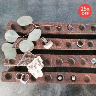 鍋敷き ヴィンテージ 菓子型 / アソートサイズ 木製(SB-03)