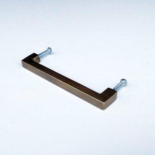 【再入荷】ノハンドル 取っ手 真鍮 ブラス / 角タイプ-S 100mm (JB-033) 《メール便選択可》