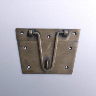 真鍮 金具 ロック 錠 ブラスパーツ -127mm (JB-040)
