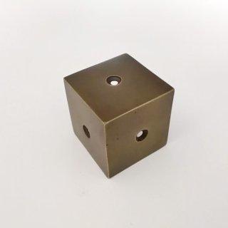真鍮 金具 家具用 コーナーパーツ -37mm (JB-041)