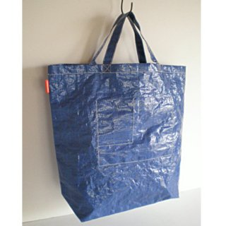 エコバッグ 耐水 トートバッグ (M) / 内ポケット付 2色 (IFB-302)《メール便可》