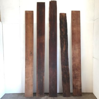古材 チーク 壁板 装飾用 ボード-A 2000-2355mm程度 (WD-101)