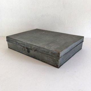 ティンボックス ブリキふた付きケース-L (THC-08)