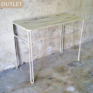 【訳ありOUTLET】アイアン ミニ テーブル / フラワーテーブル H385mm (IFN-47-out)