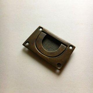 ハンドル 取手 真鍮 ブラス / 角型 62x38mm (JB-014) 《メール便選択可》