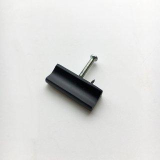 ハンドル つまみ 真鍮 ブラス / 40mm ブラック (JB-024bk) 《メール便選択可》