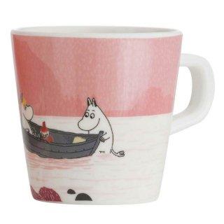 【ムーミン/Ratt Start】ムーミン谷のマグカップ(ピンク)