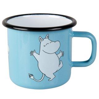 【ムーミン / muurlaムールラ】ホーローマグカップ(ムーミンブルー)