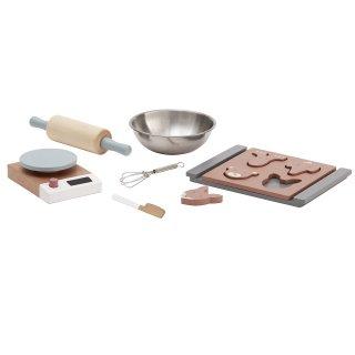 【Kids Concept】 キッズコンセプト/木製クッキー作りおままごとセット