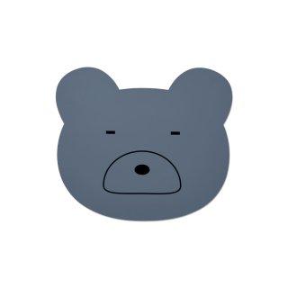【LIEWOOD】リーウッド/シリコン製ランチョンマット/ベアー ブルー