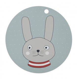 【OYOY】オイオイ/シリコン製プレイスマット/ウサギ Rabbit