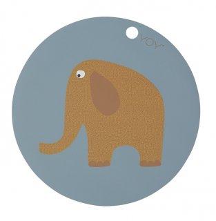 【OYOY】オイオイ/シリコン製プレイスマット/ぞう Elephant
