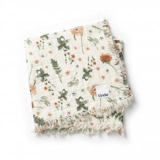 【Elodie Details】 エロディーディテールズ/ソフトコットンブランケット/Meadow Blossom